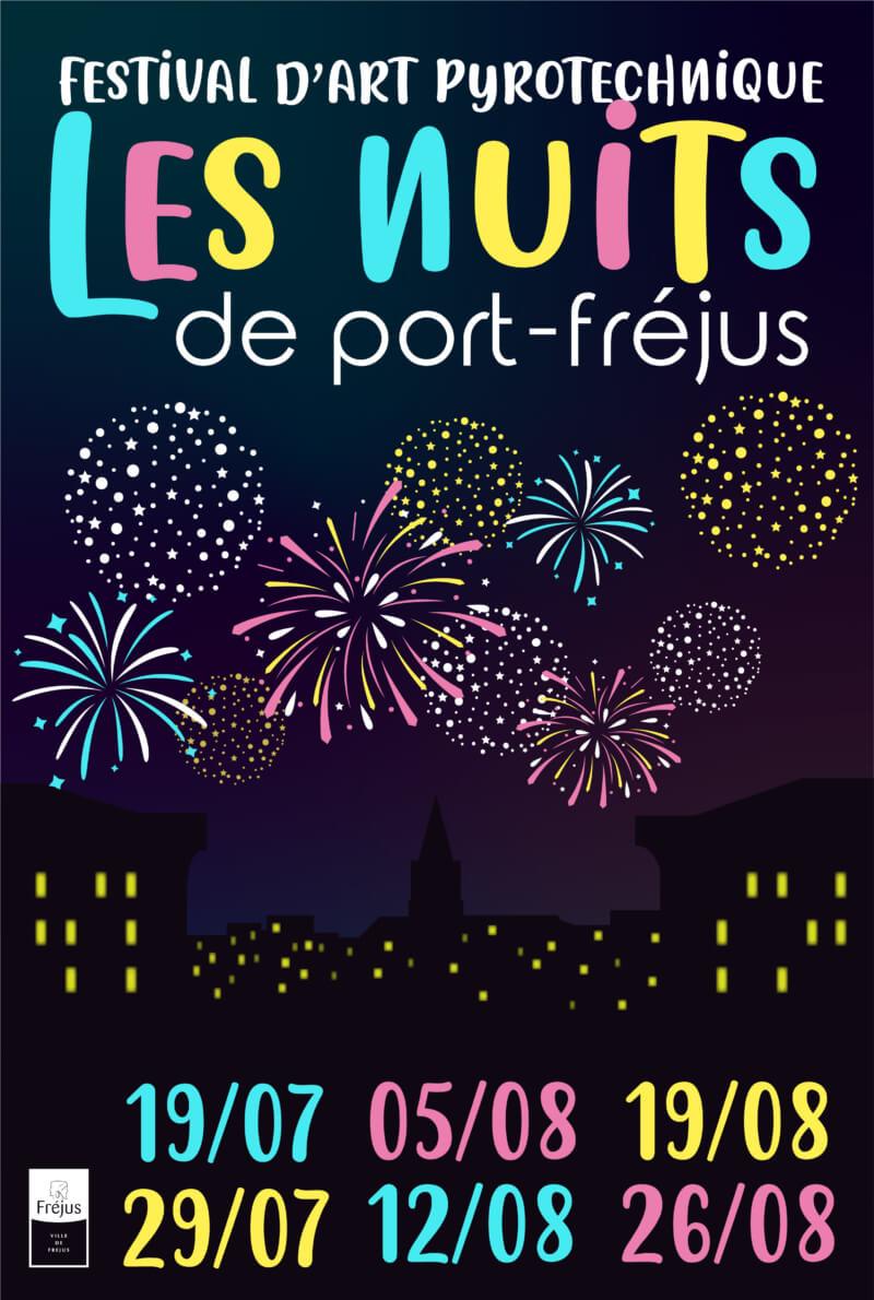Les nuits de Port Fréjus «Feu d'artifice» 19 août