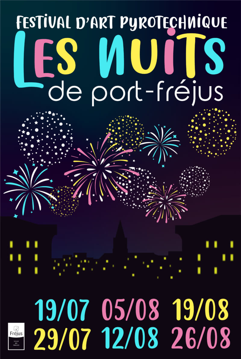 Les nuits de Port Fréjus «Feu d'artifice» 19 juillet