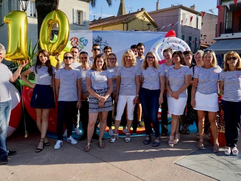 Equipe de l'Office de Tourisme lancement de saison