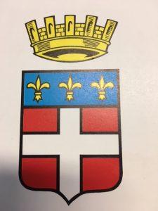 Chronique du guide conférencier blason de Fréjus