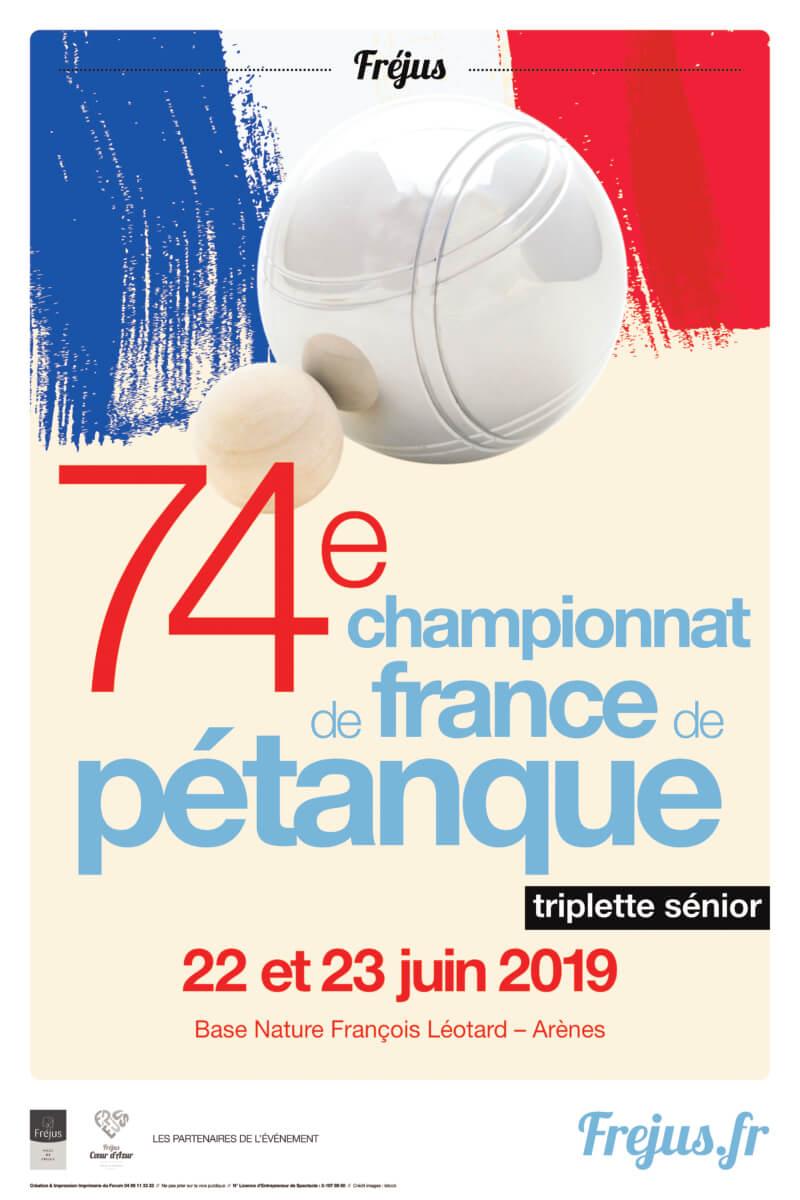 Championnats de France «triplettes séniors » de Pétanque