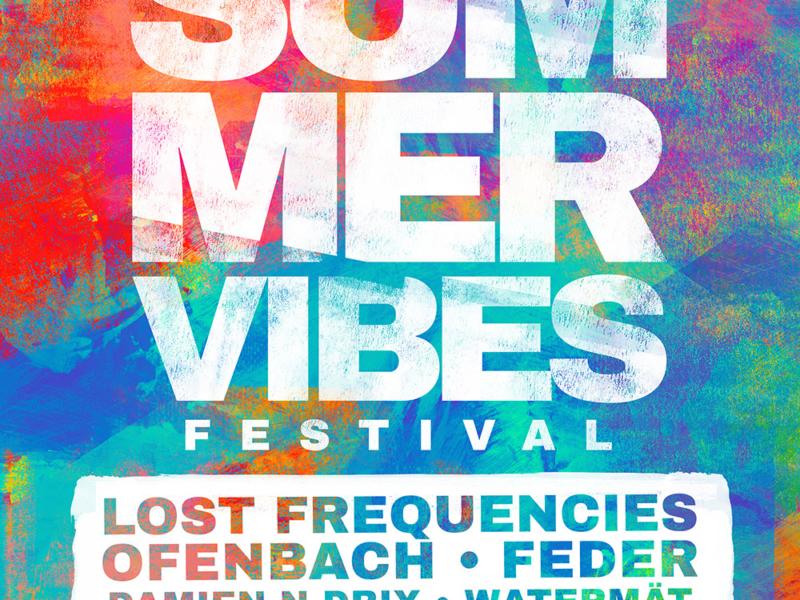 Affiche Summer vibes Frejus