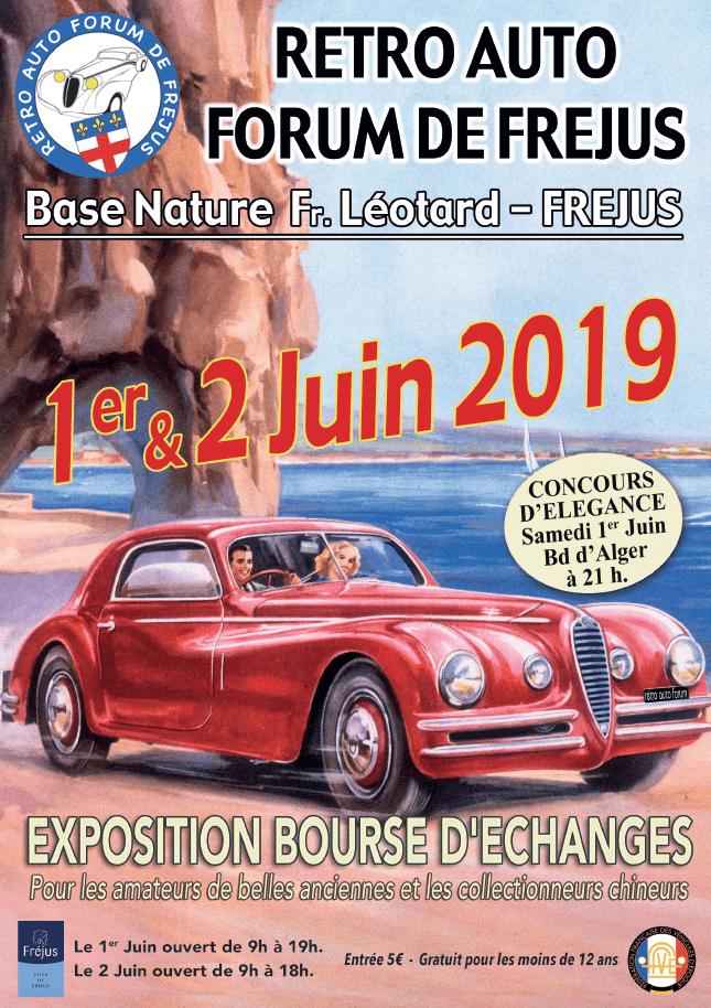 Retro auto forum de Fréjus