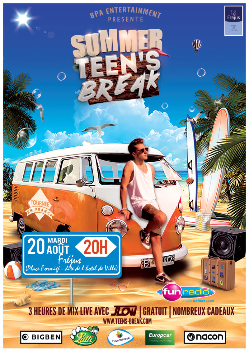 Place en fête «Summer Teen's Break»
