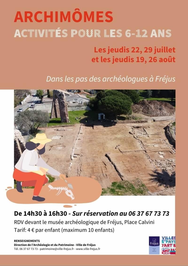 ACTIVITÉ ARCHIMÔMES POUR LES 6-12ANS
