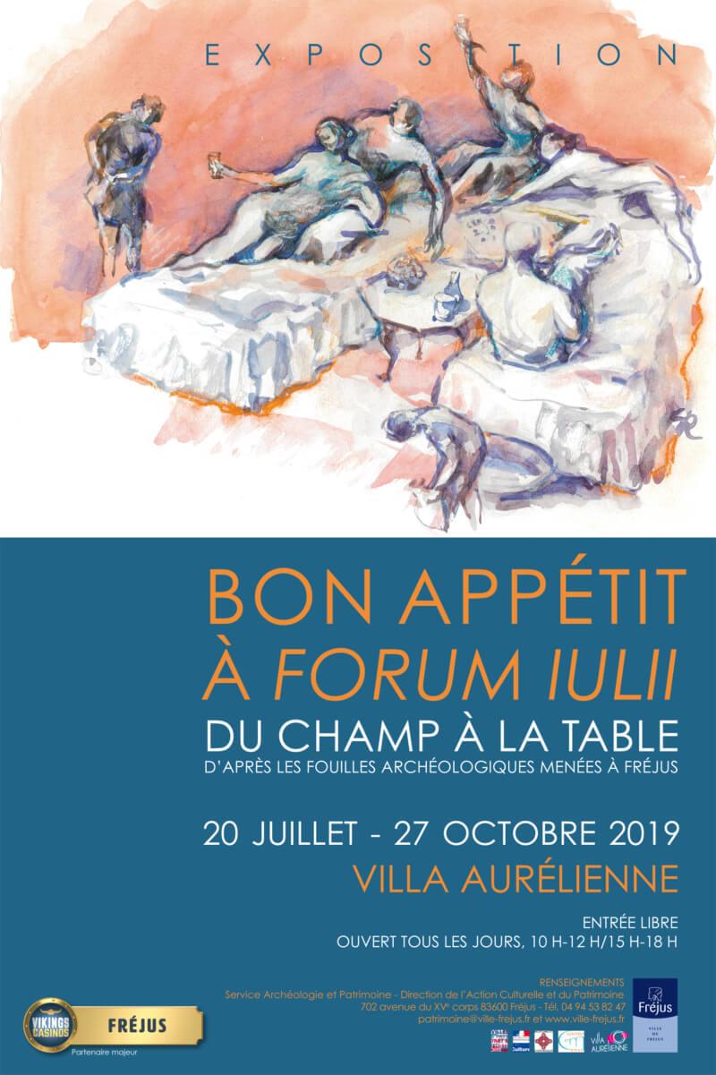 Exposition «Bon appétit à Forum Iulli»