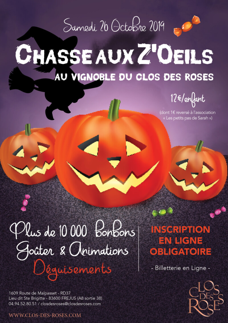 Chasse aux Z'oeils d'Halloween
