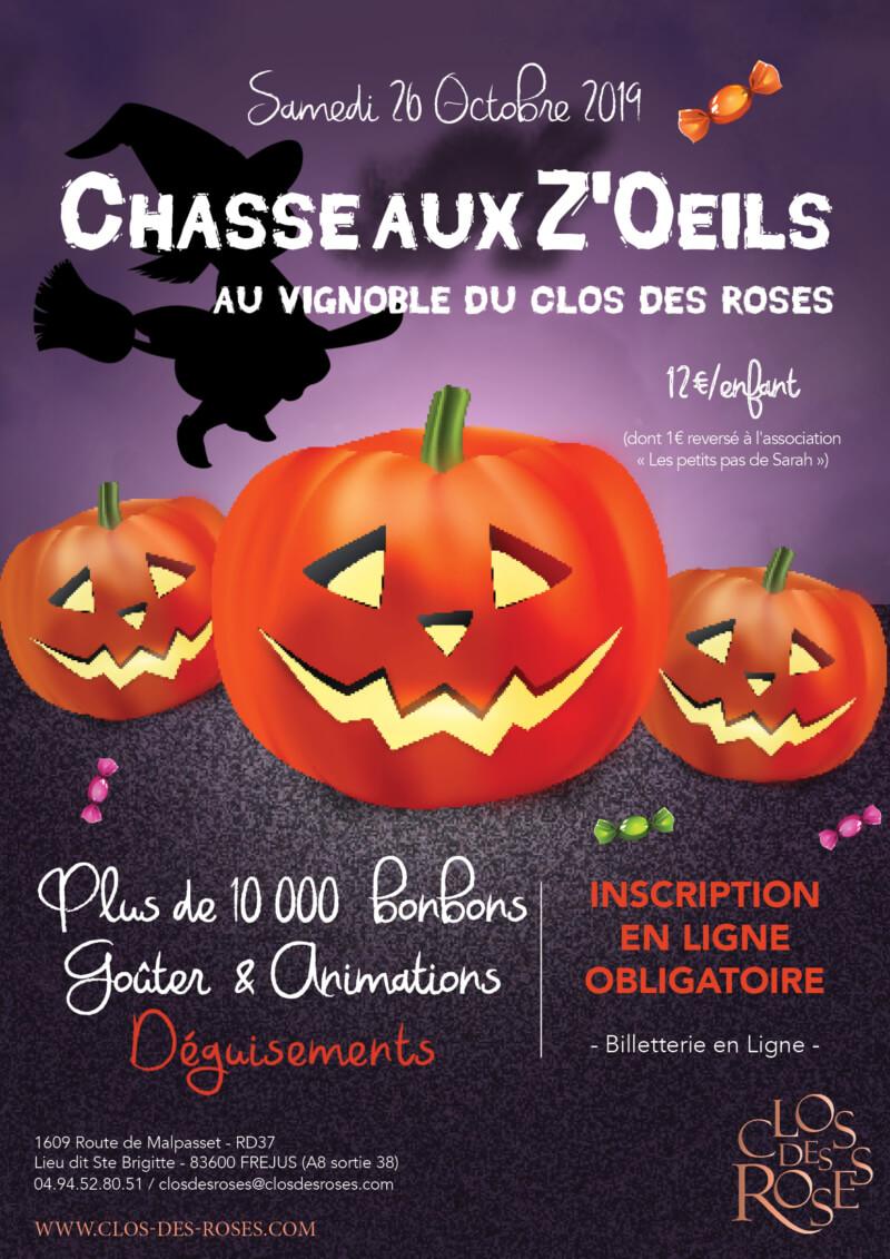 Chasse aux Z'oeils d'Halloween