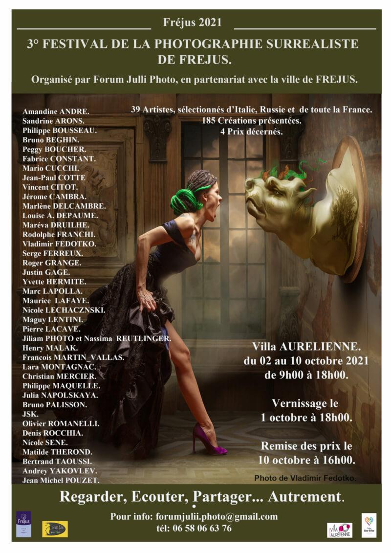 3ème festival de la photographie surréaliste de Fréjus