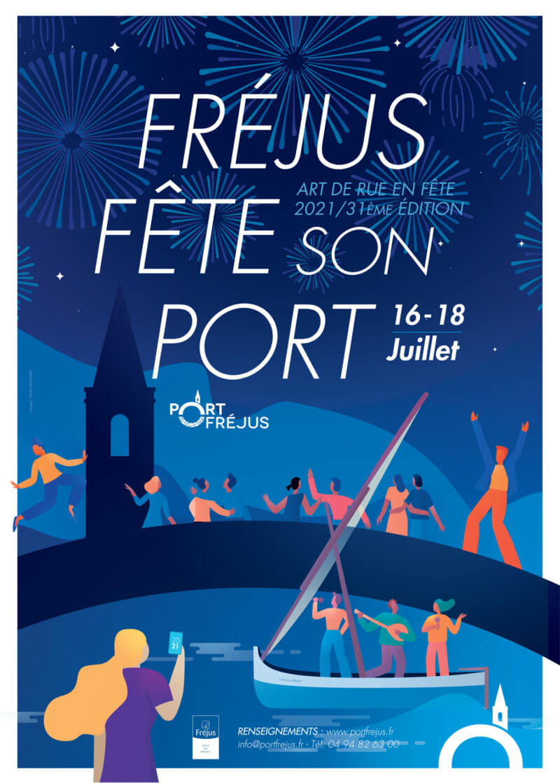 Fréjus Fête Son Port