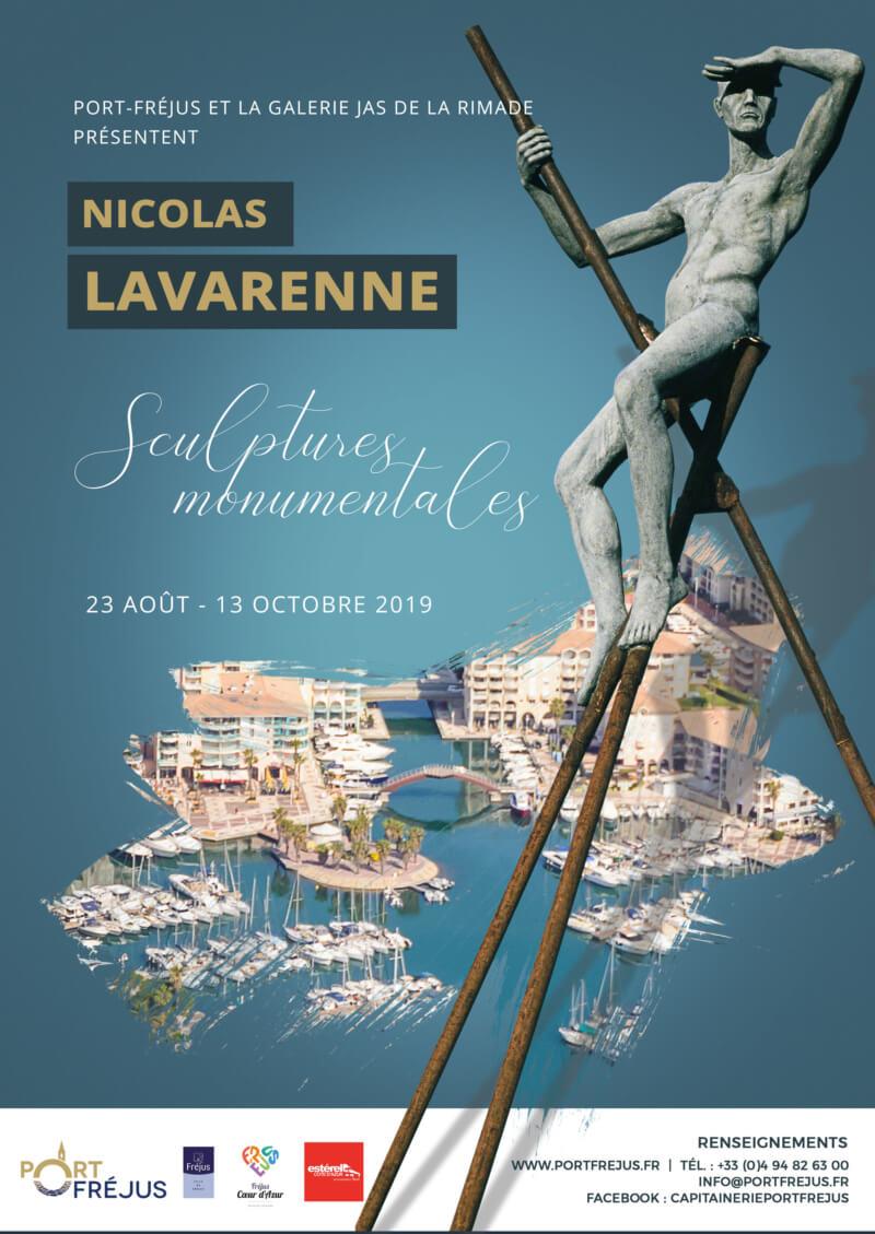 Exposition des sculptures de «Nicolas Lavarenne»