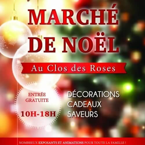 Marché de Noël du clos des roses