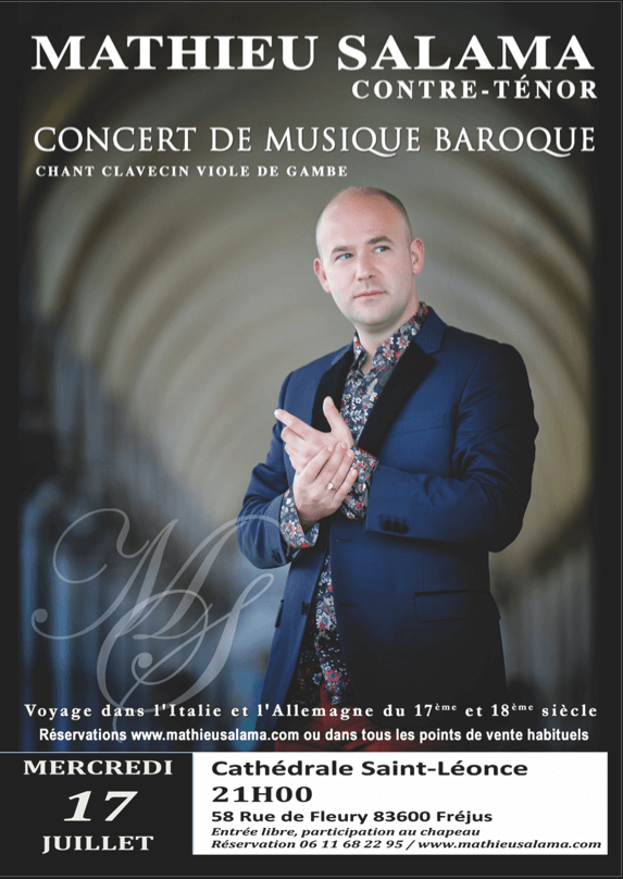 Concert «Arias Baroque, en hommage aux castrats»
