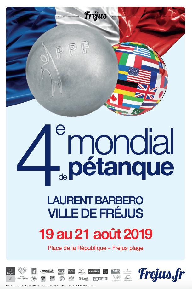 Mondial de Pétanque Laurent Barbero / Ville de Fréjus