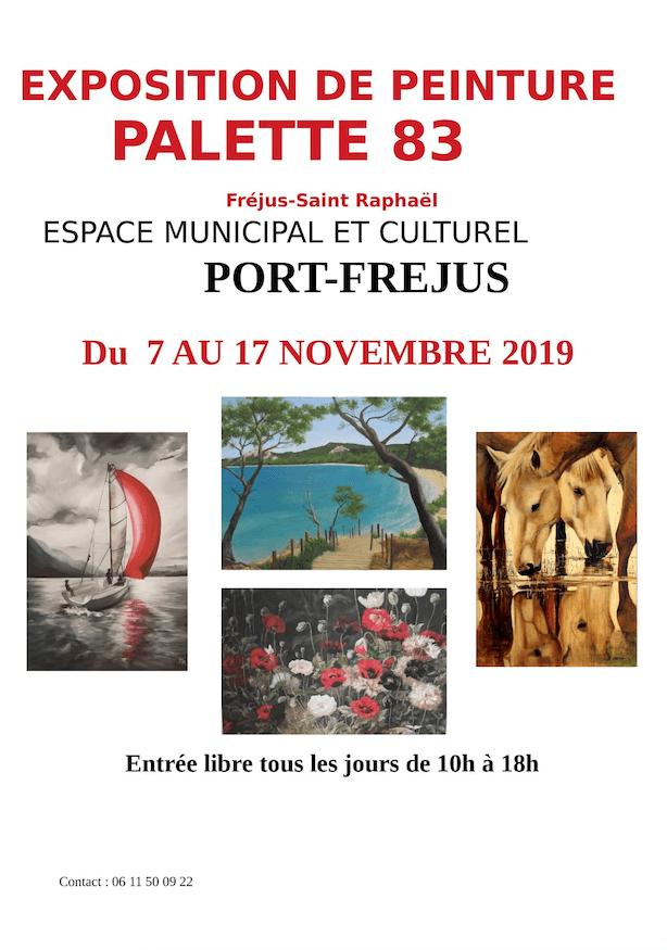 Exposition de peintures «Palette 83»