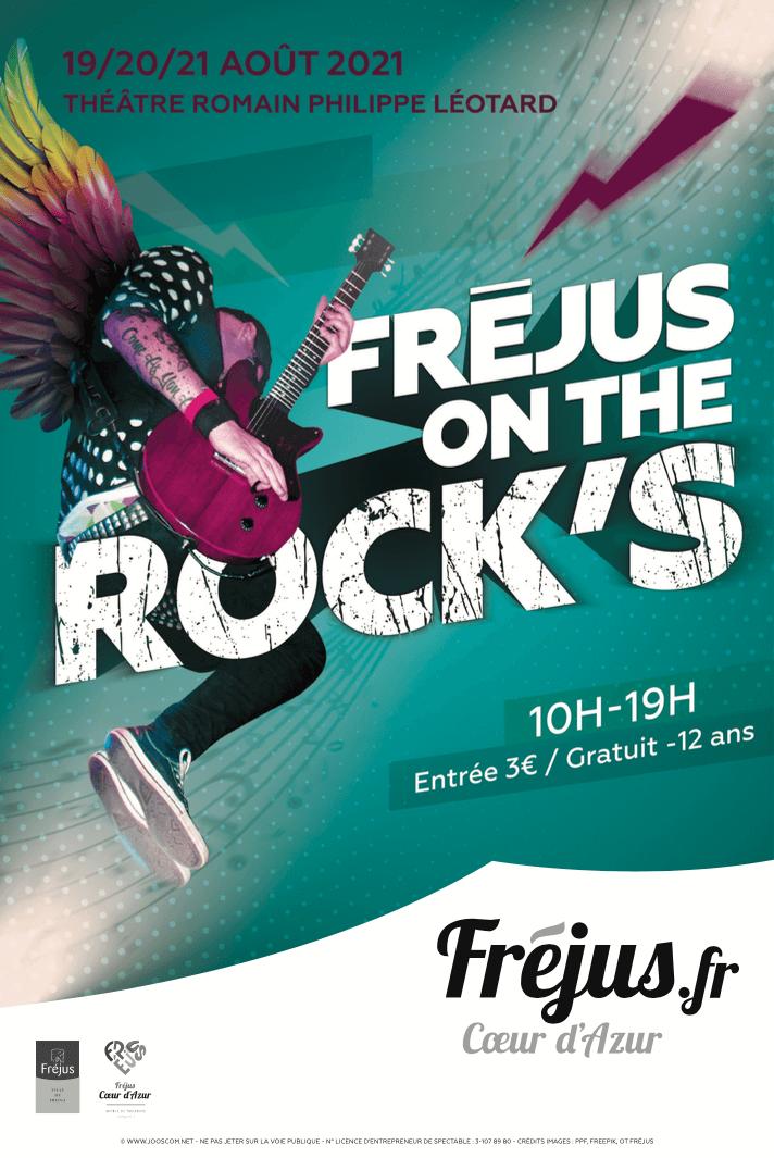 Fréjus on the rock's