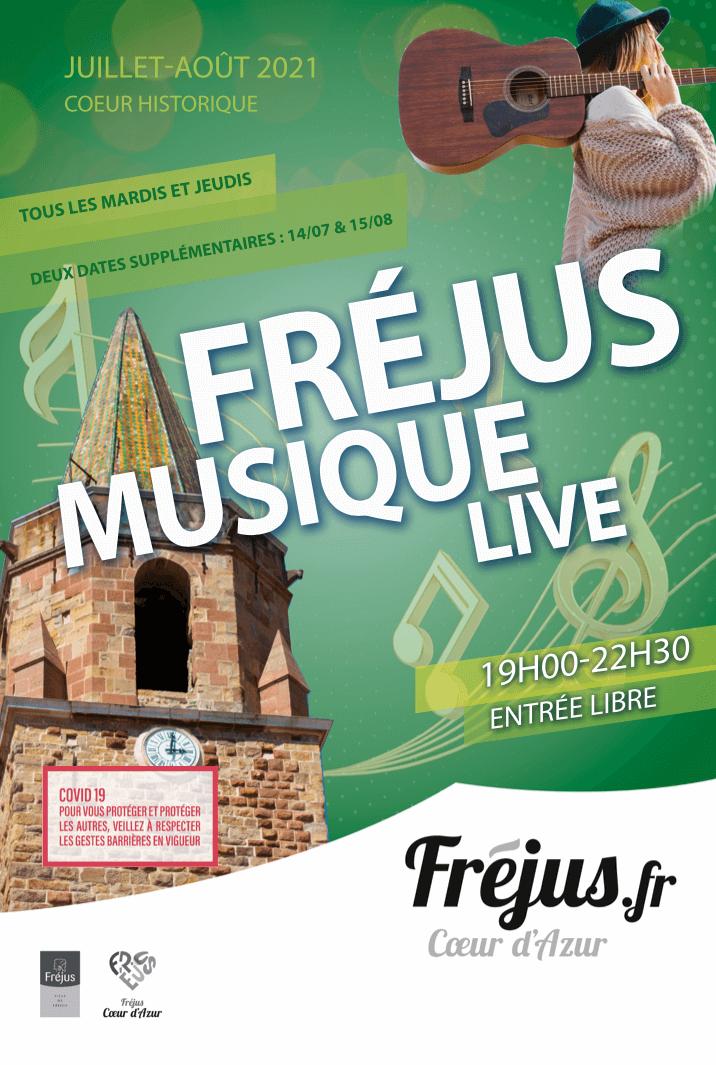 Fréjus Musique Live au Coeur Historique
