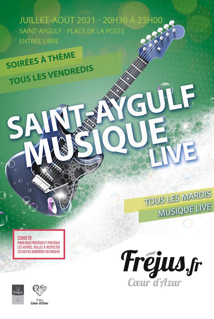 Fréjus Musique Live à Saint-Aygulf
