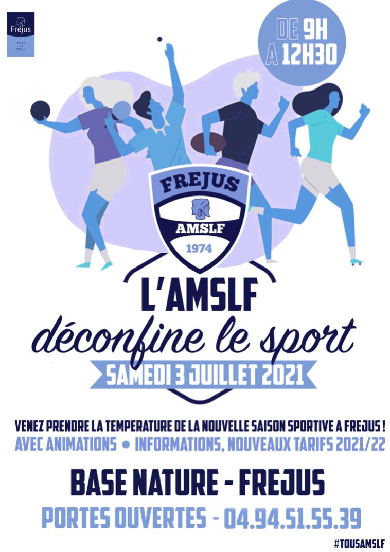 L'AMSLF déconfine le sport