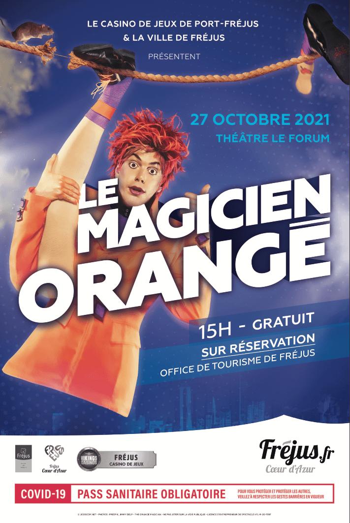Le magicien orange