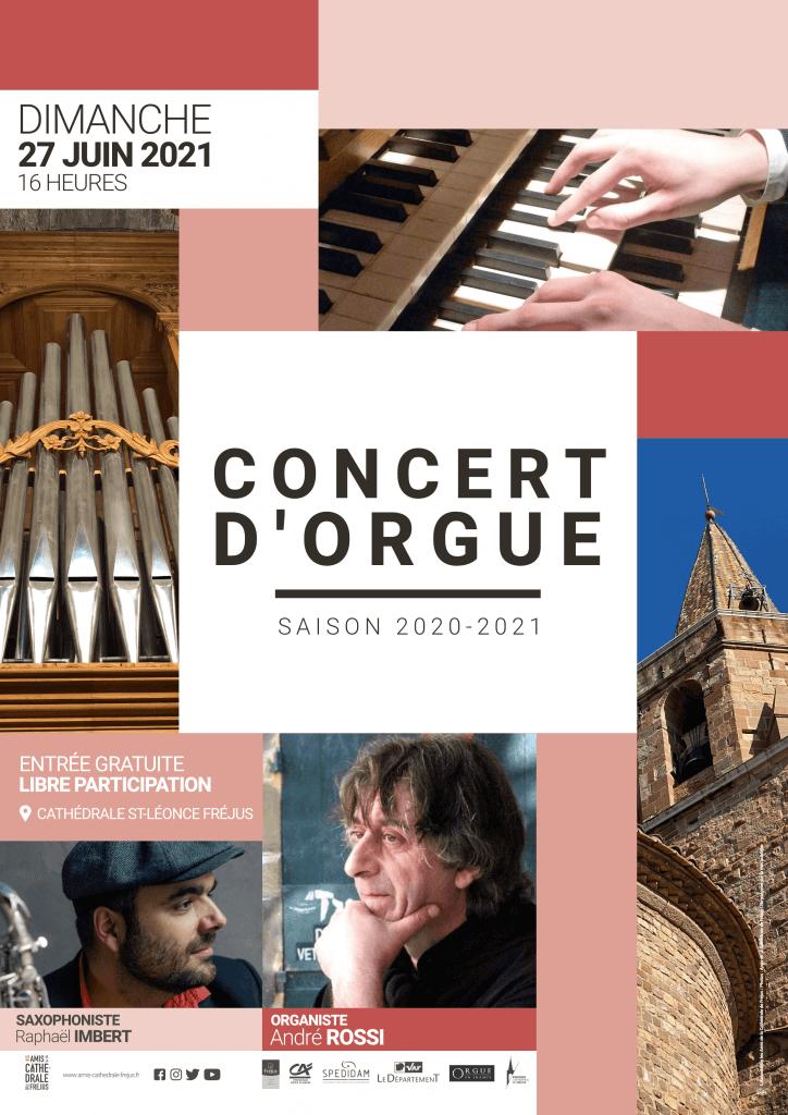 Concert de clôture saison 2020-2021 d'orgue
